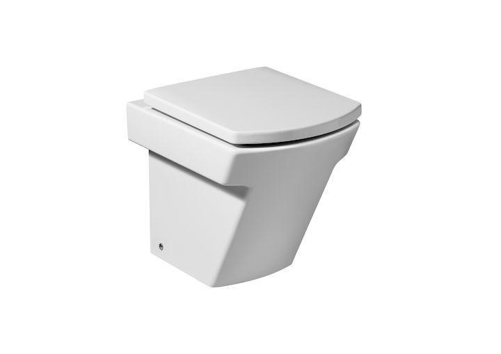 Inodoro de porcelana hall roca bigmat garro for Inodoro con salida dual