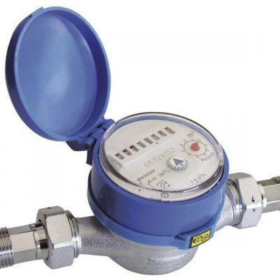 Baterías agua y contadores