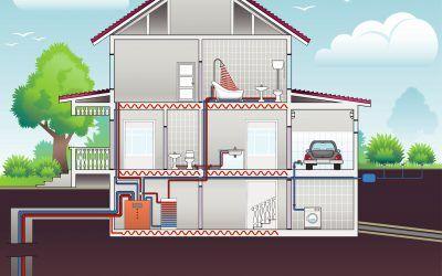 Energías renovables para suelo radiante: te contamos cómo funciona la aerotermia y la geotermia