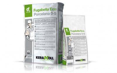 Fugabella® Eco Porcelana 0-5 de KeraKol: borada eco-compatible para interiores y exteriores